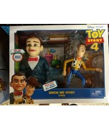 New Walt Disney Pixar Toy Story 4 movie Woody & creepy Benson puppet  - $59.00