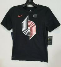 Nike Portland Trail Blazers Kids 10/12 Medium cotton tee  - $11.39