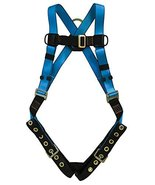 Tractel AB732XL Versafit Harness with Dorsal D-Ring Tongue and Buckle Legs, X-La - $69.29