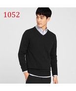 2017 Time-limited New Autumn Winter Mens Knitted Sweaters Male 100% Cott... - $44.00