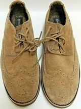 Mens Rockport Walkability LH Vicura Suede Brown Wing Tip Oxford Shoes Size 7 M  - $36.45