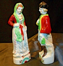 Man and Woman Figurine  (Japan) AA-192056 Vintage image 2