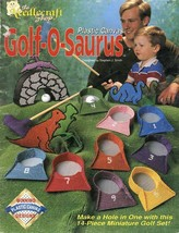 Golf-O-Saurus 14 Piece Dinosaur Miniature Golf Plastic Canvas Pattern Le... - $5.37