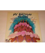 ~RARE HARD TO FIND~Kid Stuff Repertory Co.  My Birthday Record - $1,347.21