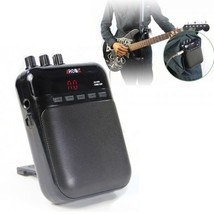 AROMA AG-03M Portable Charging Mini Guitar Amplifier Black Cool Sound Be... - $44.95
