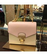 Authentic Tory Burch Juliette Chain Mini Bag Crossbody Color Block Pink ... - $299.00