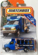 Matchbox  2018 GMC SCHOOL BUS HOLLYWOOD TOURS - $5.45
