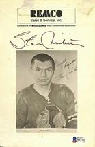 Stan Mikita Signed Chicago Blackhawks Photo BAS - $98.99