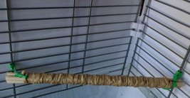 Simple Small Pet Bird Cage Corner Perch Parakeet Budgie Cockatiel Paper ... - $5.00