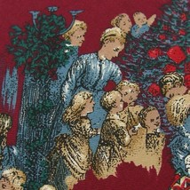 WEMBLEY CHRISTMAS HOLIDAY SANTA KIDS TOYS MAROON GRN RED Necktie tie X6-49 - $15.83