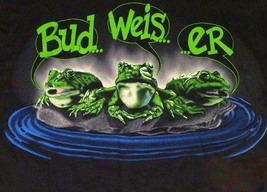 Vintage Budweiser King of Beer Ad   Bud.. Weis...  ..er  2.5 x 3.5 Fridg... - $3.99