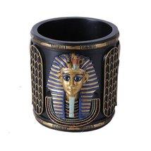 """Ebros Classical Egyptian Pen Holder 4""""Tall King Tut Pharaoh Stationery H... - €24,09 EUR"""