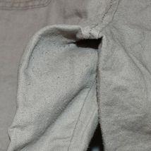 Old Navy Women's Tan Brown Linen Cotton Faux Cargo Carpi Cropped Pants Size 14 image 3