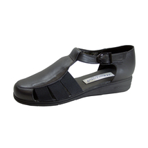 24 HOUR COMFORT Nala Women's Wide Width T-Strap Comfort Leather Shoes - $39.95