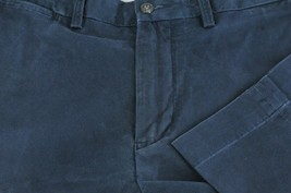 Polo Ralph Lauren Men's Navy Blue Cotton Elastane Chino Casual Pants 33 x 30 - $30.59