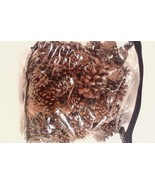 LARGE BAG OF PINE CONES 4 LBS. ASSORTED SIZES LARGE TO SMALL - $17.98