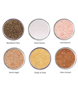 Sparkly Brown Gold Eye Shadow Mineral Eyeshadow Bare White Eye Makeup Naked - $5.50