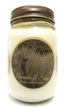 Lavender & Sage 16oz All Natural Soy Candle. Approximate Burn Time 144 H... - €11,77 EUR