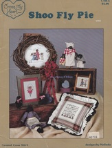 Shoo Fly Pie, Cross My Heart Black Americana Cross Stitch Pattern Bookle... - $8.95