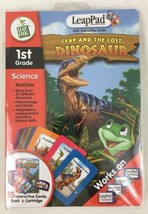 Leapfrog LeapPad Leap and The Lost Dinosaur 1st Grade Book and Cartridge... - $6.88