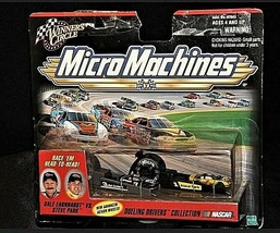 NASCAR Micro Machines #1 Steve Park vs #3 Dale Earnhardt AA19-NC8023 image 1