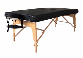 "Extra Wide Portable Massage Table - Comfort Plus 34"" Wide  - $295.00"