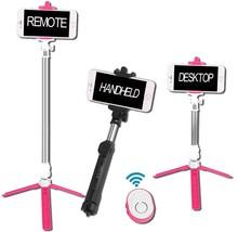 Aiiot Universal Fashion Design Portable Selfie Stick Foldable Tripod Sta... - €28,95 EUR