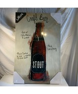 """Craft Beer Wall Art Decor Oliver Gal 24"""" x 16"""" Man Cave Lodge Canvas Woo... - $59.39"""