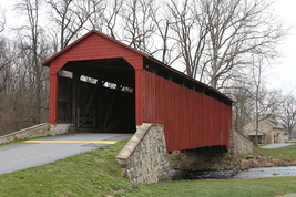 Pool Forge Covered Bridge 13 x 19 Unmatted Photograph - $35.00