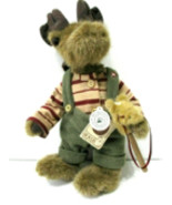 "Boyds Bears ""Morton Elfbeary w/Pony"" 12"" Plush Bear- #93361V- QVC Exclusive- New - $49.99"