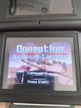 Nintendo Game Boy Advance GBA Operation: Armored Liberty image 1