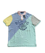 Polo Ralph Lauren R-L 1967 PC Patchwork Classic Fit Mesh Polo Shirt Men'... - $67.31