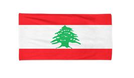 Lebanon Flag Beach Towel Swimming Towels Summer Holiday Towels Gym Towel - $24.99+