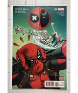 Spider-Man/Deadpool #5 2016 Marvel 1st app Peter Scioli (High Grade) - $3.00