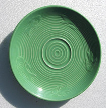 Genuine Fiesta Green Color Saucer by Homer Laughlin- Lead Free - $14.99