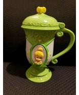 Tinkerbell Disney On Ice souvenir flip top hard plastic cup. Hard to fin... - $9.90