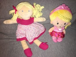 Fisher Price Princess Mommy Princess Chime Baby  & Bonikka Cloth Rag Dol... - $14.84