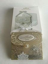 Hallmark 2010 CHRISTMAS MEMORY KEEPER Ornament NEW Opened w/ Memory Note... - $12.62
