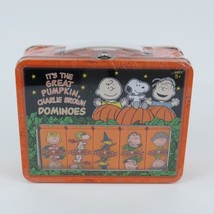It's the Great Pumpkin Charlie Brown Dominos 2006 Lunch Box Collectible NEW - $39.59