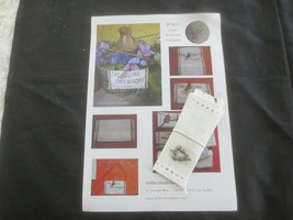 French LE KLUB Know How Workshop CROSS STITCH SIGN Kit - $14.85