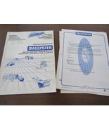 Sweepster S24 Rotary Broom Operation Maintenance Parts manual  Issue 12 93 - $24.78