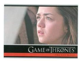 Game of Thrones trading card #28 2012 Arya Stark - $4.00