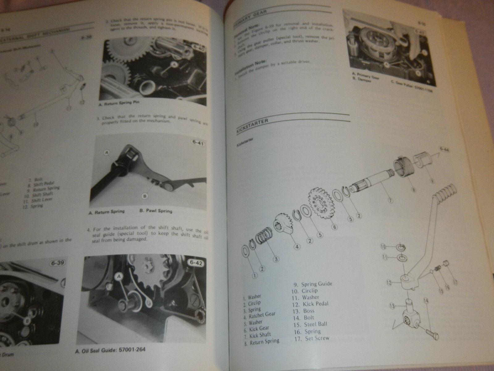 1981 81 1982 82 kawasaki ar50 ar 50 ar80 ar 80 shop service