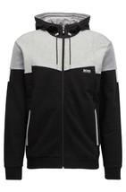 Hugo Boss Men's Premium Full Zip Cotton Sport Hoodie Jacket Saggy 1 50383360 image 2