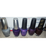 OPI polish DS Coronation Temptation purple with a purpose ottaware vespe... - $49.50