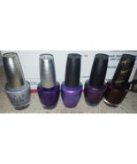OPI polish DS Coronation Temptation purple with a purpose ottaware vespe... - $55.00