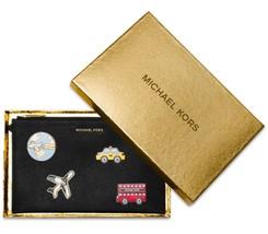 Michael Kors Aufkleber Bar Zip Clutch Handgelenk Portemonnaie Geschenk S... - $106.91