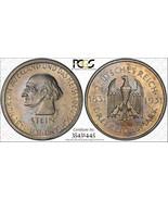1931-a Alemania 3 Marco Calidad Pr62 Lote #G023 de Plata ! Karl Von Stei... - $420.28