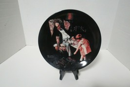 1997 Edwin M Knowles Norman Rockwell The Dreamer Collector Plate W/Certificate - $10.00