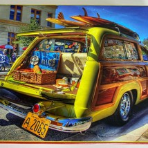 SunsOut Woody Wagen Groß Format 300 St.Puzzle Komplett - $12.43